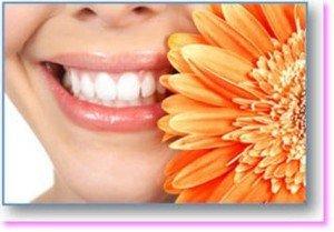 sorriso con sbiancamento